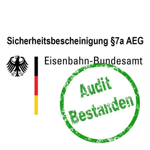 Verlängerung der SiBe §7a AEG erfolgreich bestanden