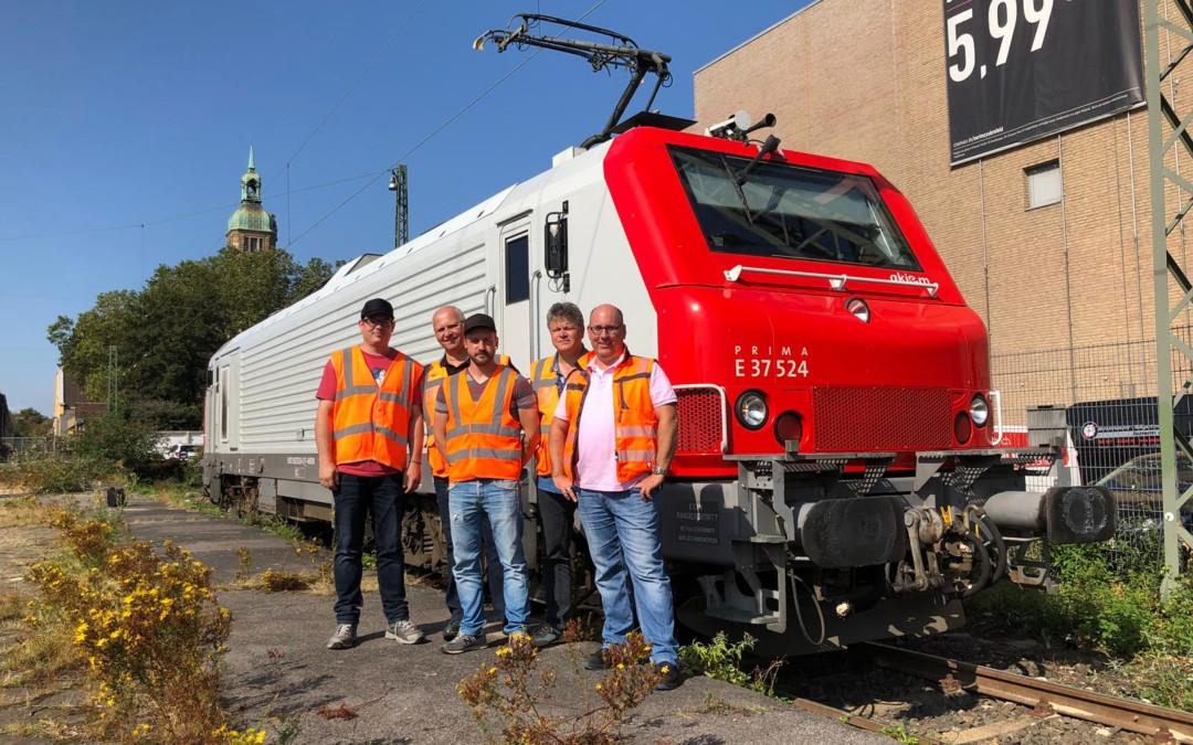 Unsere neue Alstom Prima Lokomotive BB 37 524
