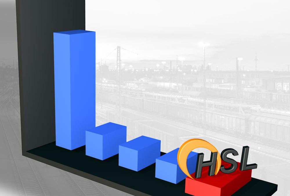 HSL wieder Platz 5 in Deutschland