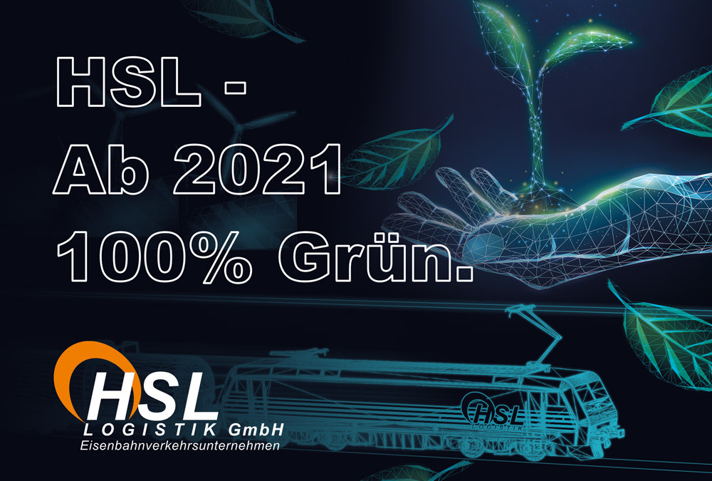 Ab 2021 100% Grün