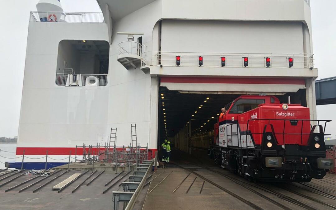 Nachhaltig auf Schiene und Schiff – Stena Line kooperiert mit HSL Logistik